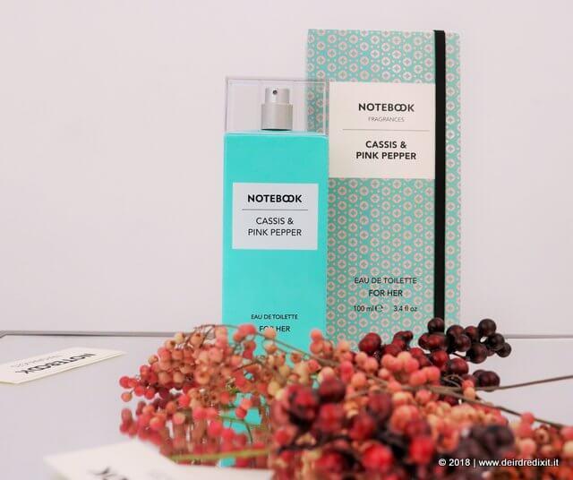 Notebook Fragrances cassis