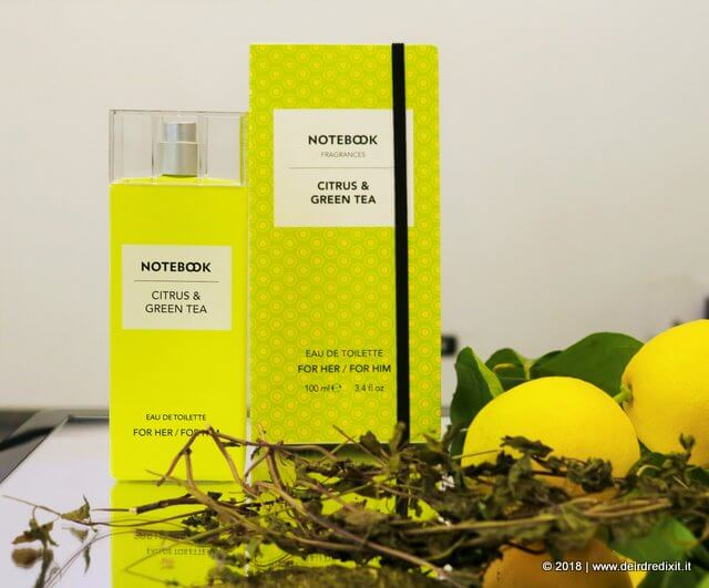 Notebook Fragrances limone