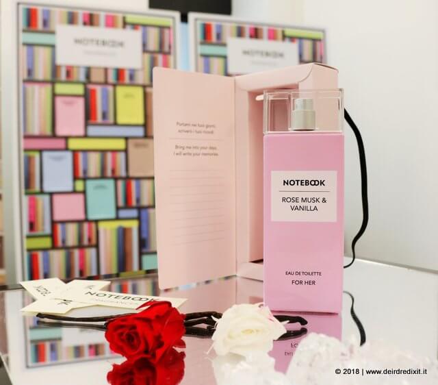 Notebook Fragrances rosa