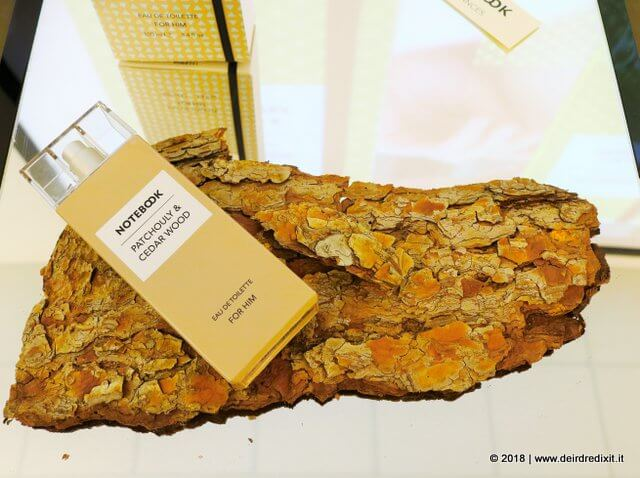Notebook fragrances Patchouli