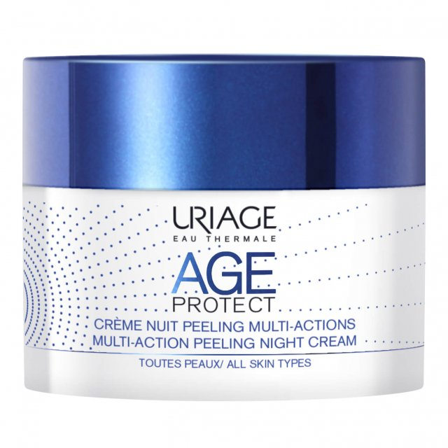 Uriage Age Protect Crema Notte Peeling Multi-Action