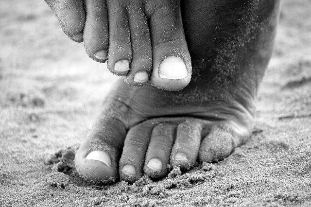 unghie malate piedi