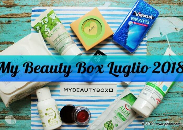 MyBeautyBox Luglio 2018