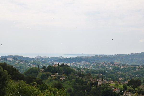 Vista da St Paul de Vence