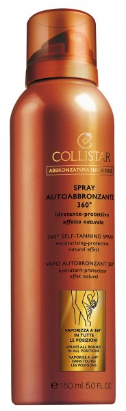 autoabbronzante collistar spray 360